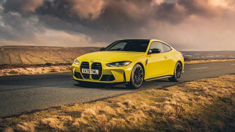 BMW M4 Competition, 2021, Tarmac, 5K, Wallpaper