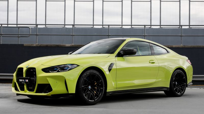 BMW M4 Competition, 2021, 5K, Wallpaper