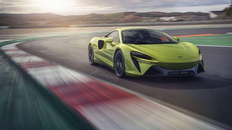 McLaren Artura, Race track, Sports cars, 2021, 5K, 8K, Wallpaper