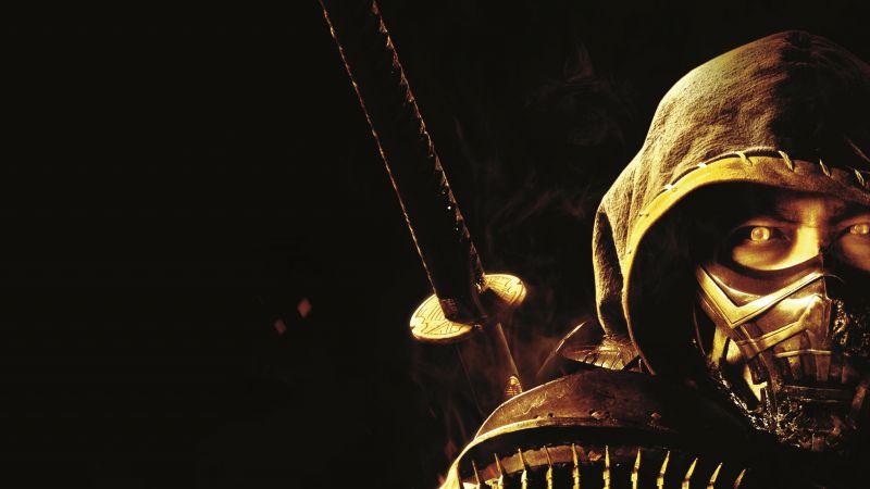 Scorpion, Mortal Kombat, 2021 Movies, Wallpaper