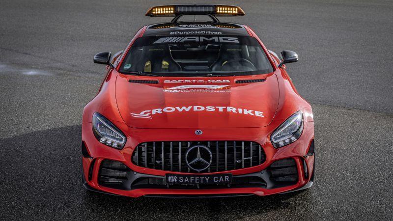 Mercedes-AMG GT R F1 Safety Car, 2021, 5K, Wallpaper