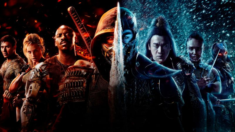 Mortal Kombat, 2021 Movies, Poster, Wallpaper