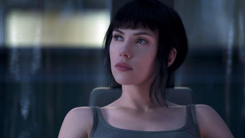 Scarlett Johansson, Ghost in the Shell, 5K, Wallpaper