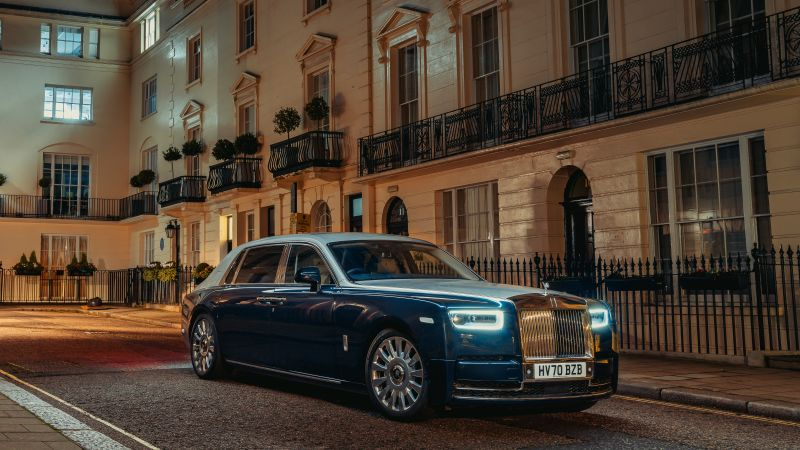 Rolls-Royce Phantom Extended, 2021, 5K, Wallpaper