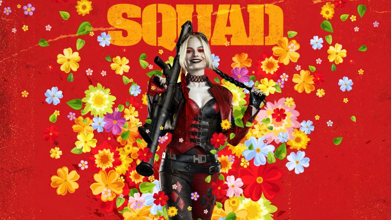 Harley Quinn, Margot Robbie, The Suicide Squad, 2021 Movies, Wallpaper