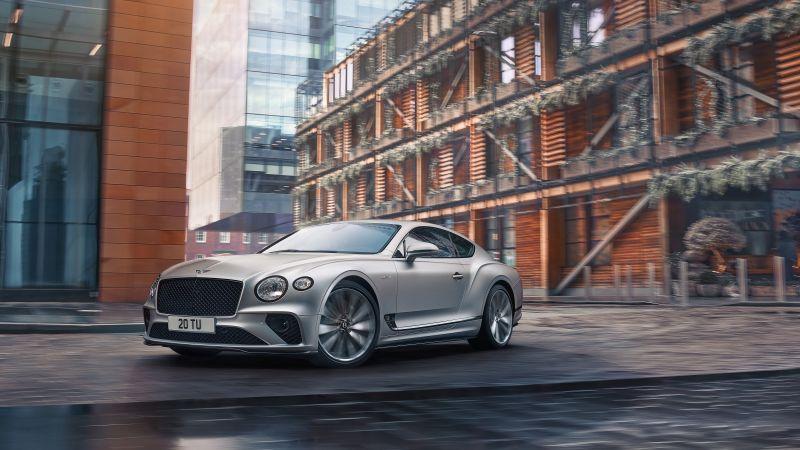 Bentley Continental GT Speed, 2021, 5K, Wallpaper