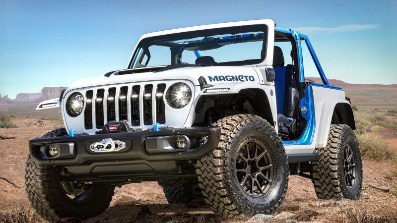Jeep Wrangler Magneto, Off-roading, 2021, Wallpaper