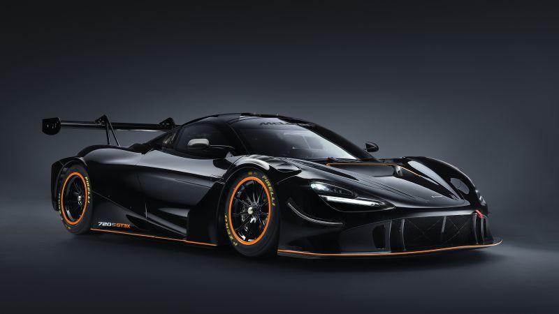 McLaren 720S GT3X, Race cars, 2021, 5K, 8K, Wallpaper