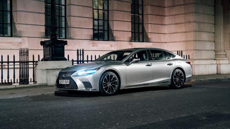 Lexus LS 500h, 2021, Wallpaper