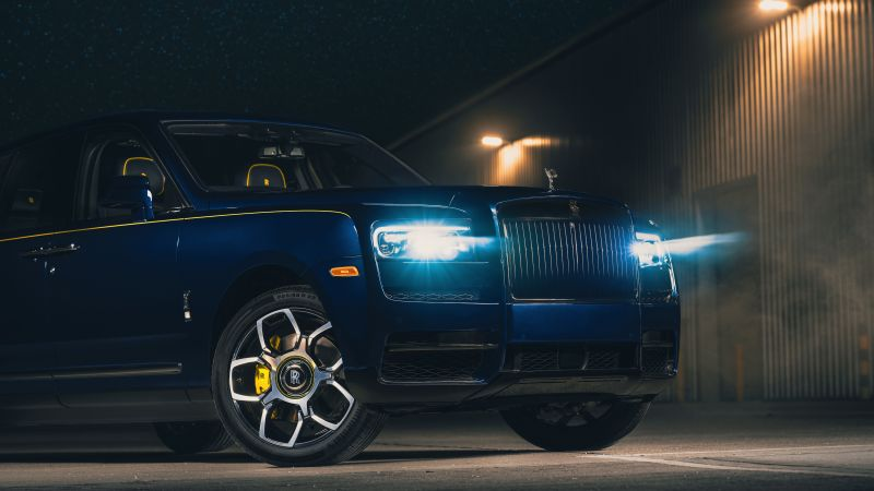 Rolls-Royce Cullinan Black Badge, 2021, 5K, 8K, Wallpaper