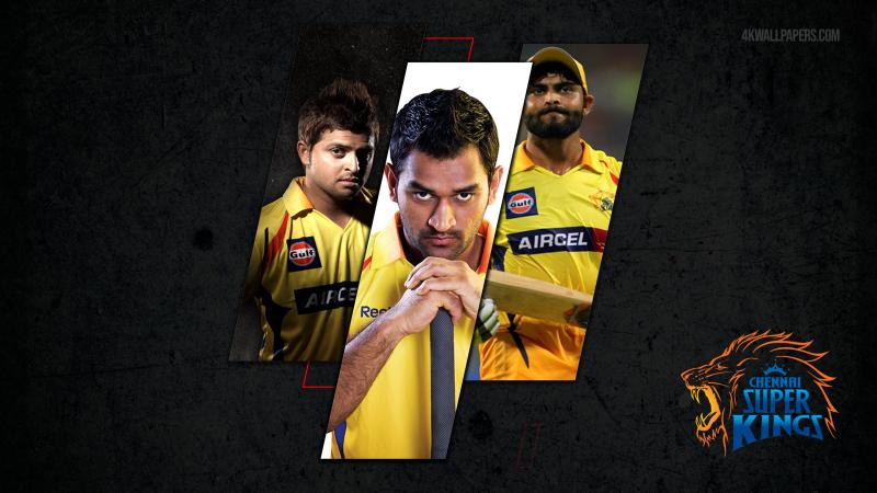 Chennai Super Kings Team, CSK, Squad, IPL 2021, IPL T20, Indian Premier League, Chennai Super Kings, Dhoni, Suresh Raina, Ravindra Jadeja, Cricket, Dark background, Wallpaper
