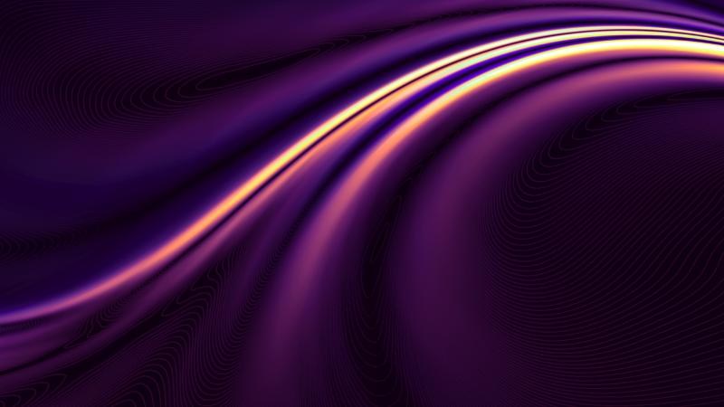 OnePlus 8 Pro, Stock, Purple, QHD, 2020, Wallpaper