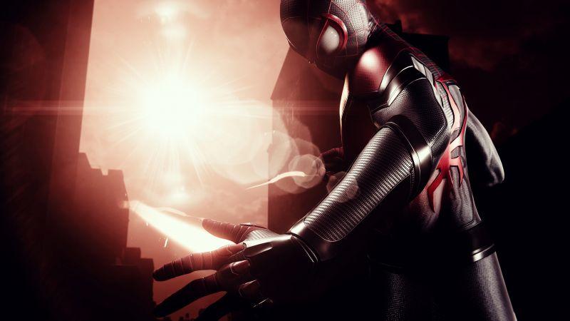 Marvel's Spider-Man: Miles Morales, PlayStation 4, PlayStation 5, Wallpaper