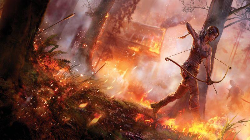 Tomb Raider, Lara Croft, 5K, 8K, Wallpaper