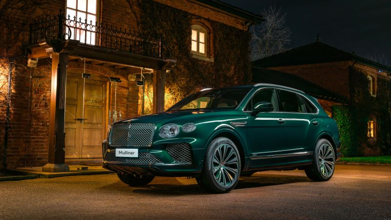 Bentley Mulliner Bentayga Hybrid, 2021, 5K, Wallpaper