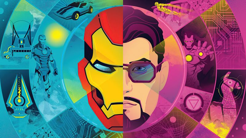Fortnite, Iron Man, PlayStation 4, PC Games, Nintendo Switch, Android, iOS, Xbox One, Wallpaper