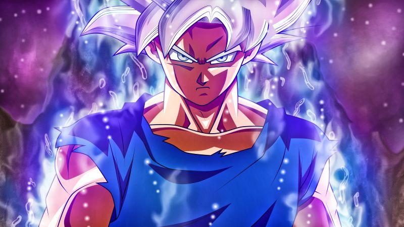 Goku Mastered Ultra Instinct, Dragon Ball Super, 5K, Wallpaper