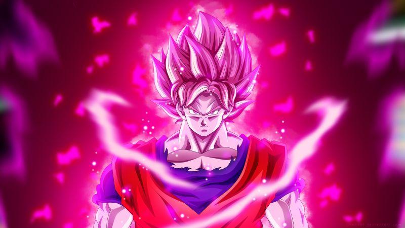 Super Saiyan Blue Kaio-ken, Goku, Dragon Ball Super, 5K, Wallpaper