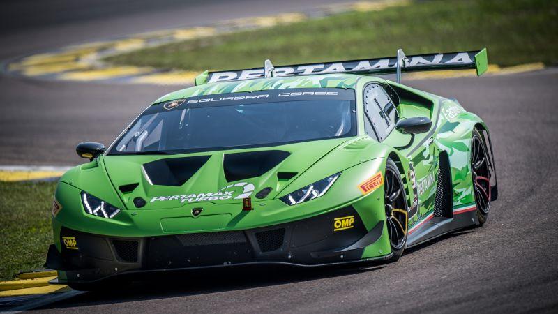 Lamborghini Huracán GT3 EVO, Race track, 2021, 5K, Wallpaper