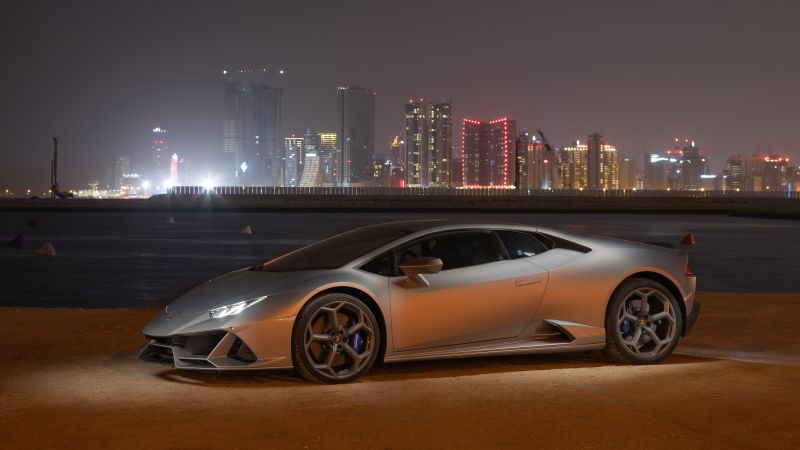 Lamborghini Huracan EVO, 2021, 5K, Wallpaper