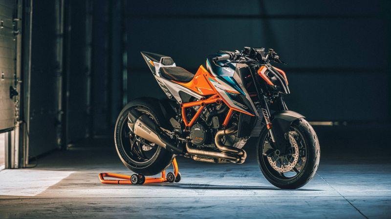 KTM 1290 Super Duke RR, 2021, 5K, Wallpaper