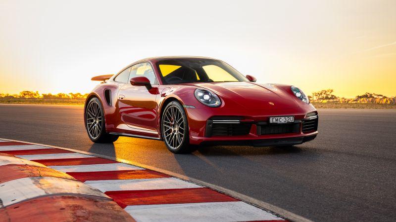 Porsche 911 Turbo, 2021, Wallpaper