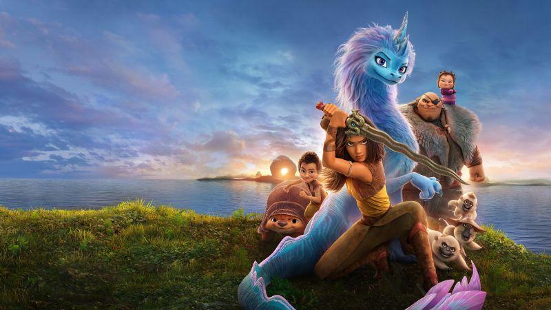 Raya and the Last Dragon, Animation, 2021 Movies, Wallpaper