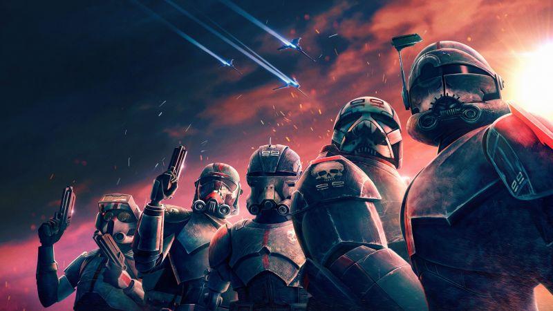 Star Wars: The Bad Batch, TV series, Season 1, 2021, 5K, Wallpaper