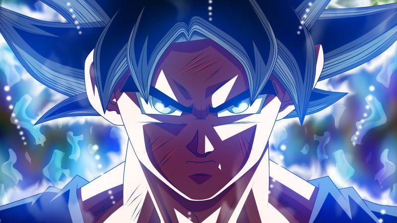 Ultra Instinct Goku, Dragon Ball Super, 5K, Wallpaper