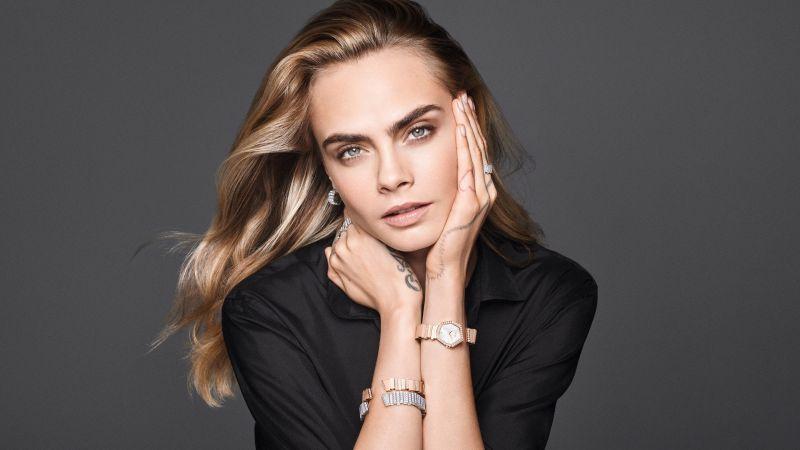 Cara Delevingne, Model, Portrait, Wallpaper