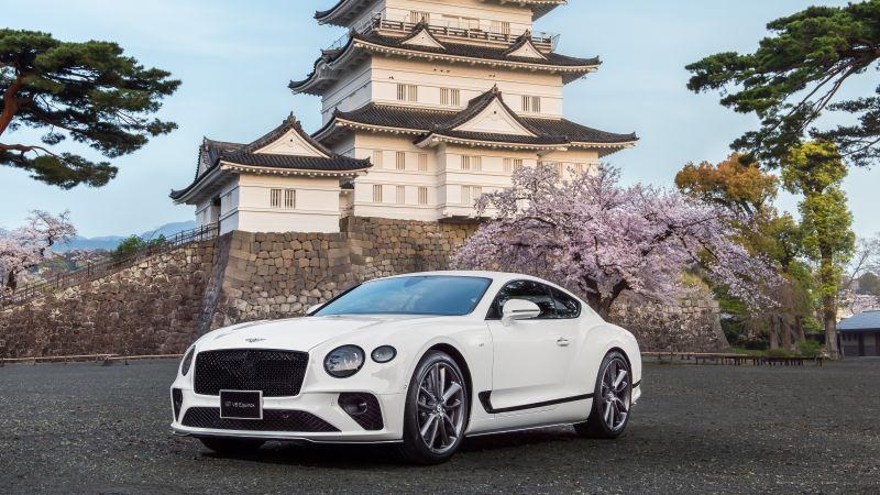 Bentley Continental GT V8 Equinox Edition, 2021, 5K, Wallpaper