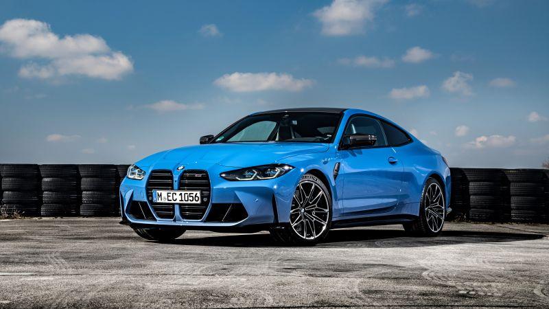 BMW M4 Competition xDrive, 2021, 5K, Wallpaper