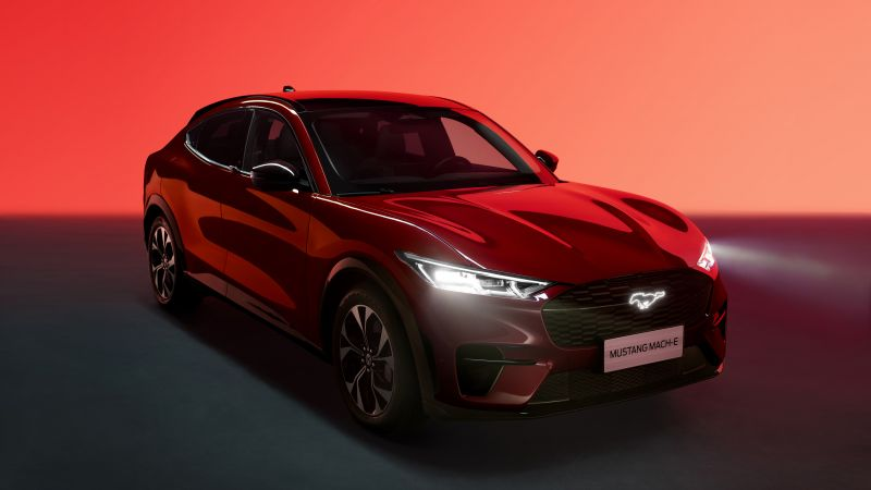 Ford Mustang Mach-E Premium, 2021, Wallpaper