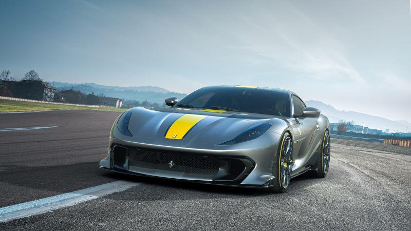 Ferrari V12 Versione Speciale, 2021, 5K, Wallpaper