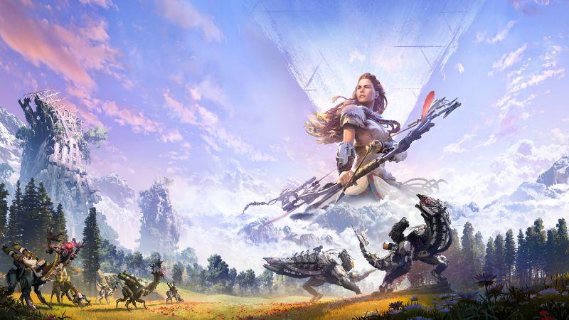 Horizon Zero Dawn, PC Games, PlayStation 4, Aloy, Wallpaper