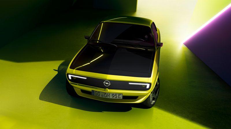 Opel Manta GSe ElektroMOD, Electric cars, Concept cars, 2021, 5K, 8K, Wallpaper