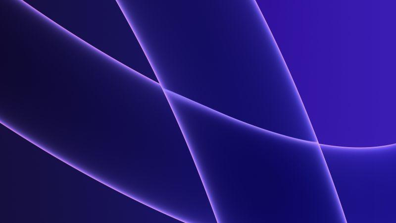 iMac 2021, Apple Event 2021, Stock, Purple background, 5K, Wallpaper