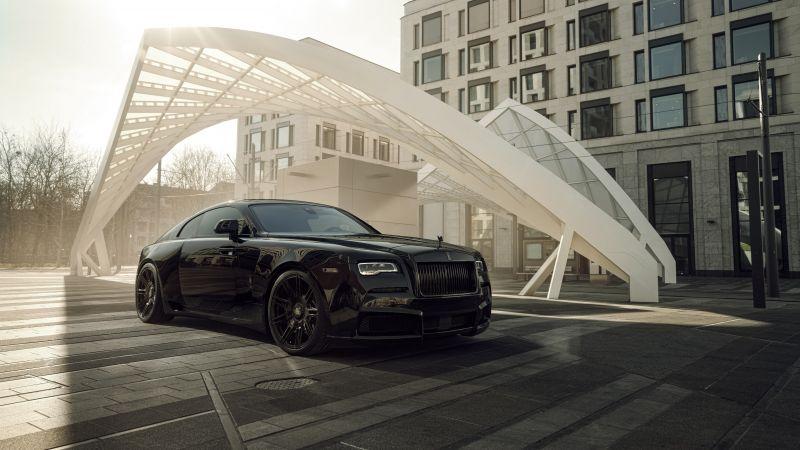 Spofec Rolls-Royce Wraith Black Badge Overdose, 2021, 5K, 8K, Wallpaper