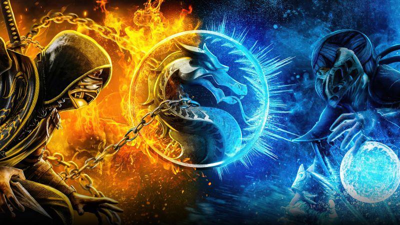 Mortal Kombat, 2021 Movies, Sub-Zero, Scorpion, Wallpaper