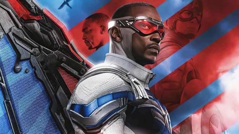 The Falcon and the Winter Soldier, 2021 Series, TV series, Wallpaper