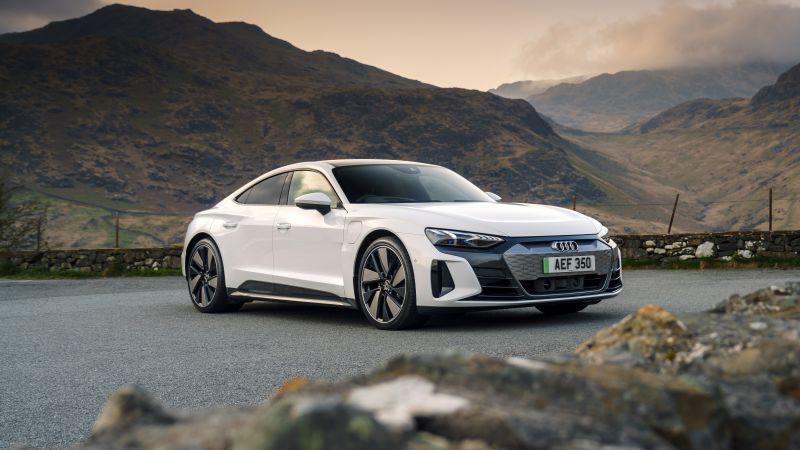 Audi e-tron GT quattro, 2021, 5K, Wallpaper