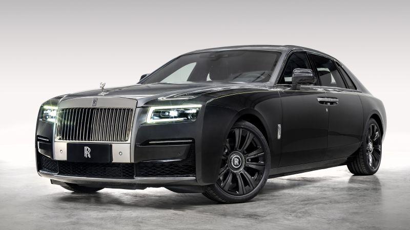 Rolls Royce Ghost Extended, 2021, 5K, Wallpaper