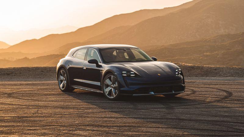 Porsche Taycan Turbo Cross Turismo, 2021, 5K, Wallpaper