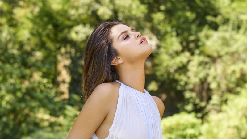 Selena Gomez, Photoshoot, ELLE, Wallpaper
