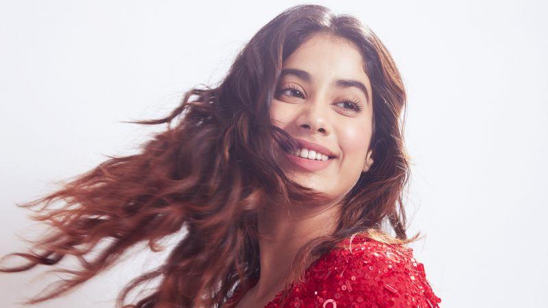 Janhvi Kapoor, Bollywood actor, Indian actress, Beautiful actress, 2021, 5K, Wallpaper