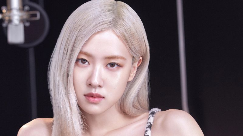 Rose, Blackpink, Beautiful, Portrait, K-Pop singer, Vogue, Wallpaper