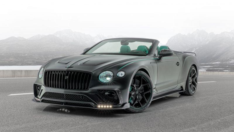 Mansory Bentley Continental GT V8 Convertible, 5K, 8K, Wallpaper