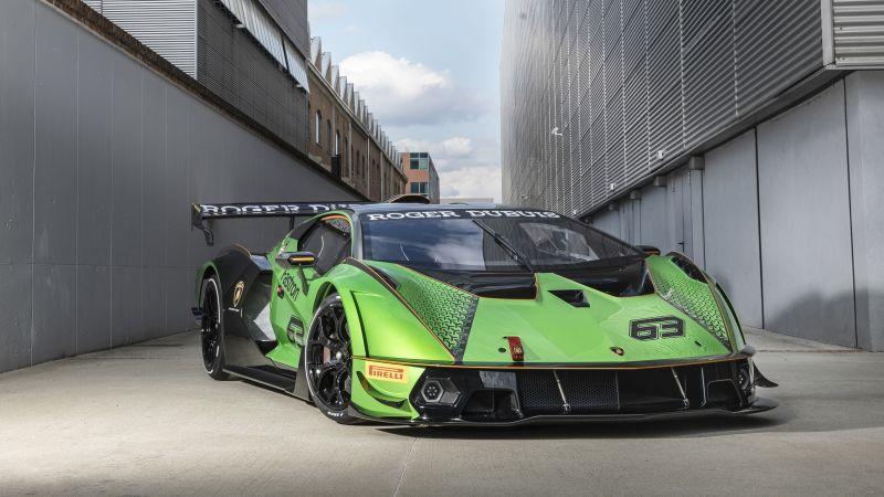 Lamborghini Essenza SCV12, 2021, Wallpaper