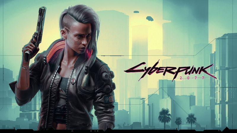 Cyberpunk 2077, Female V, 2020 Games, Xbox Series X, PlayStation 4, Xbox One, Google Stadia, PC Games, Wallpaper