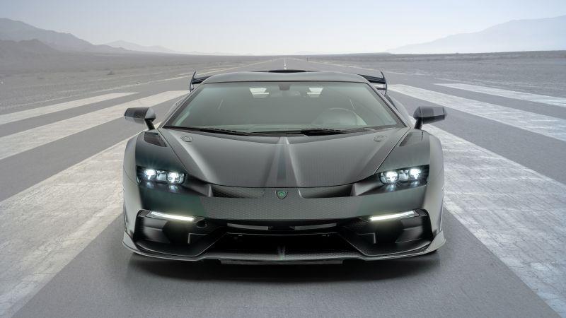 Mansory Cabrera, Lamborghini Aventador SVJ, 5K, Wallpaper